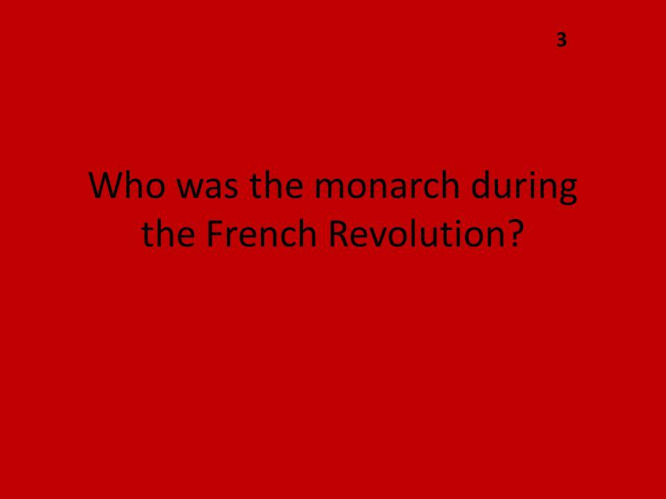 Louis XVI 1775 - 1793