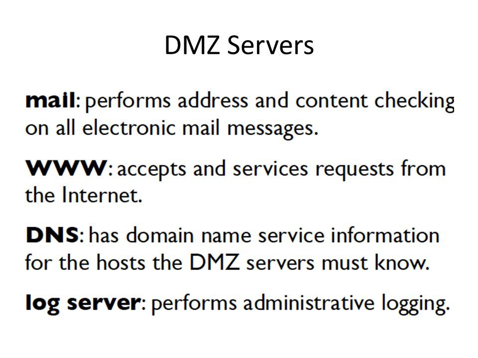 DMZ Servers