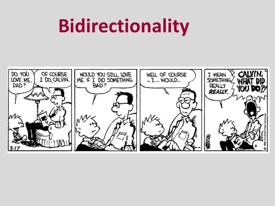 Bidirectionality