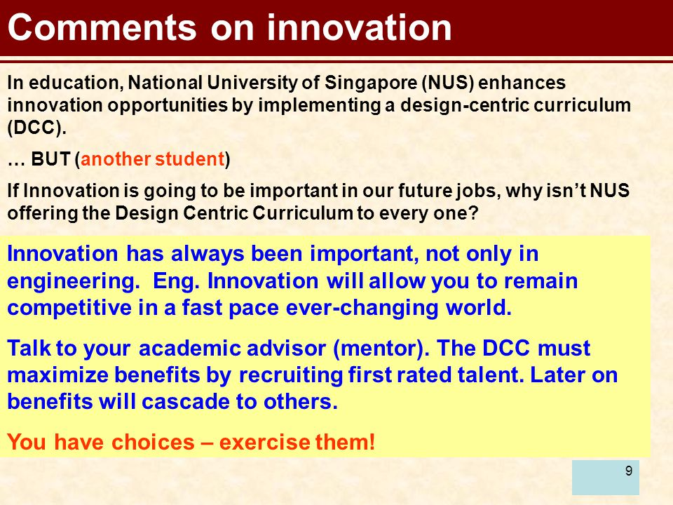9 Comments on innovation Innovation has always been important, not only in engineering.