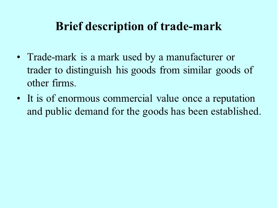 Brief description of copyright Copyright arises spontaneously when the work is created.