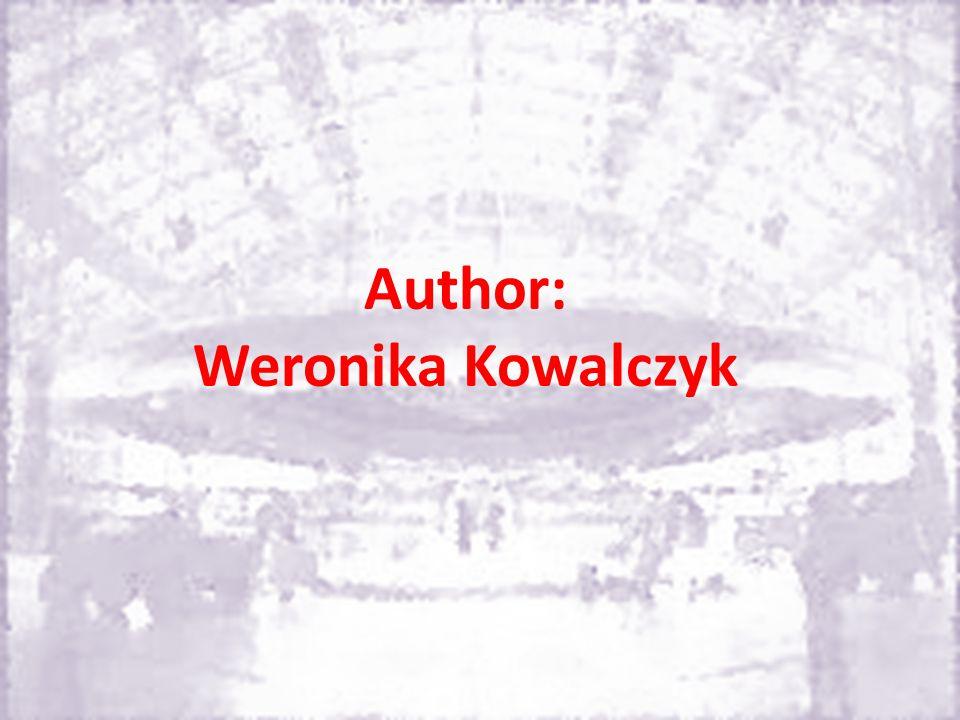 Author: Weronika Kowalczyk