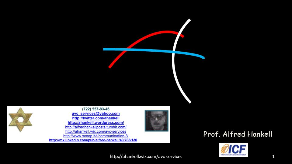1http://ahankell.wix.com/avc-services Prof. Alfred Hankell