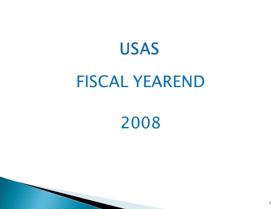 FISCAL YEAREND 2008 1