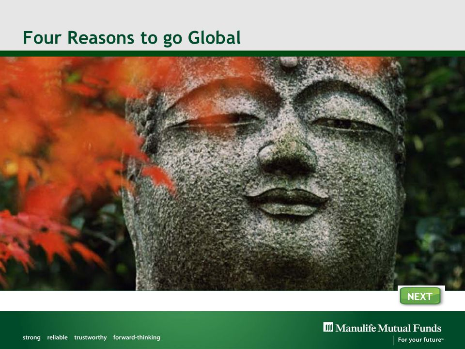 Four Reasons to go Global NEXT