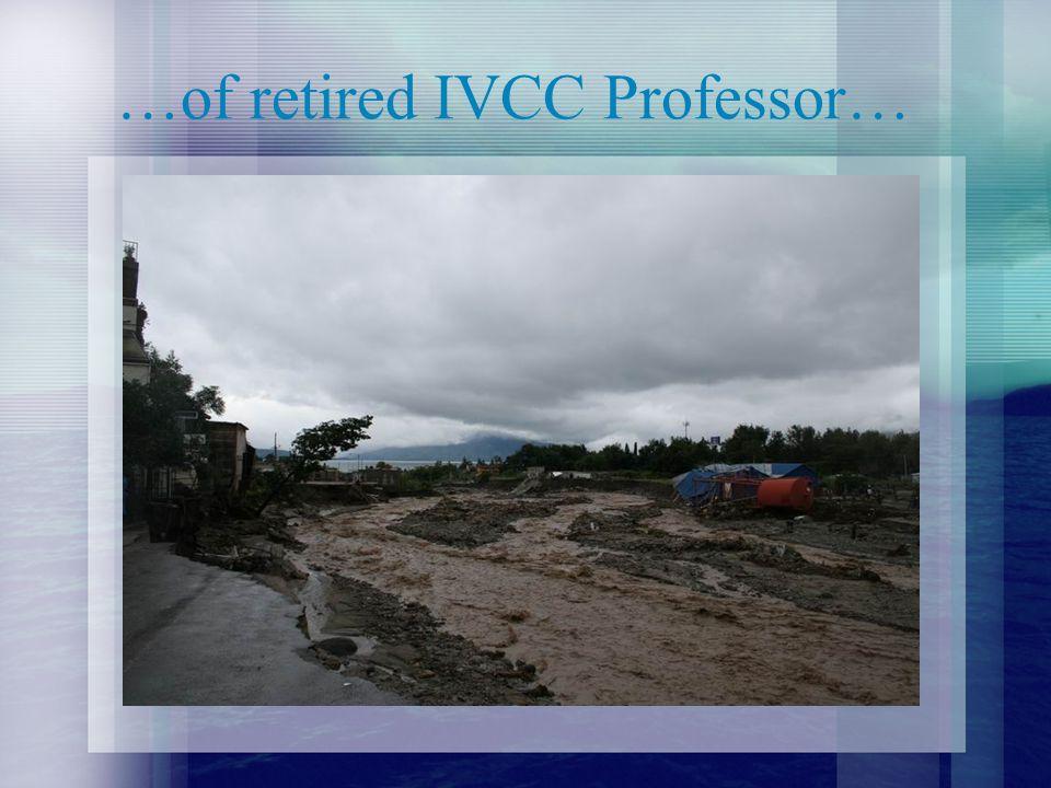 …of retired IVCC Professor…