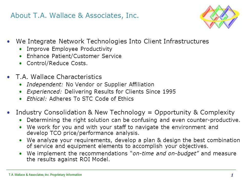 T.A.Wallace & Associates, Inc.