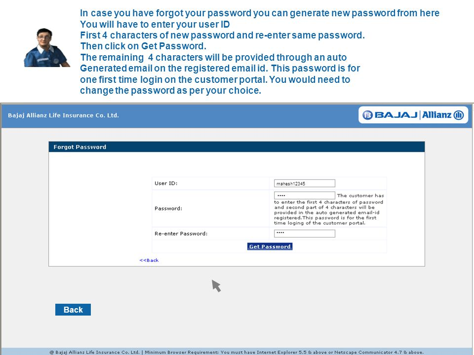Back You can now request for partial withdrawal of your funds, online.