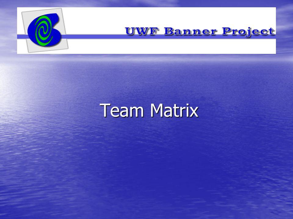 Team Matrix