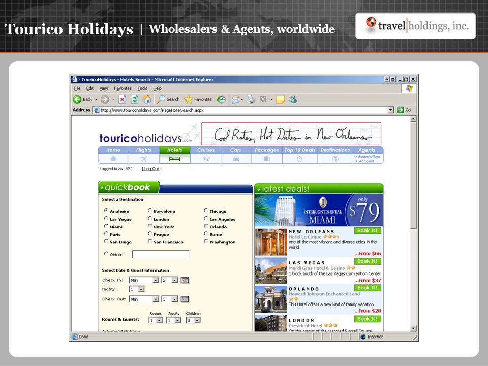 Tourico Holidays | Wholesalers & Agents, worldwide