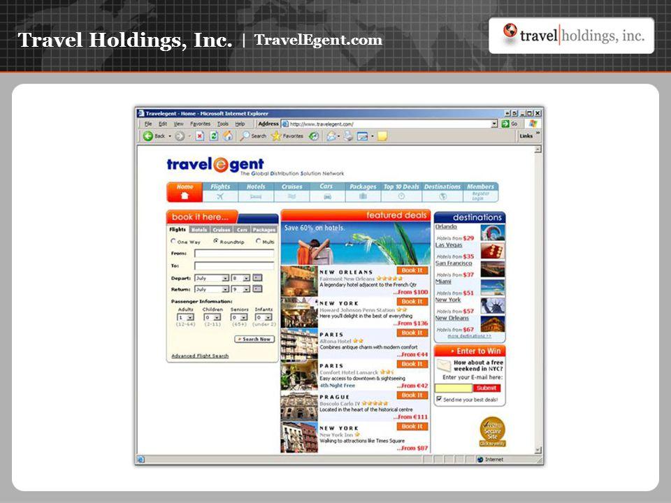 Travel Holdings, Inc. | TravelEgent.com