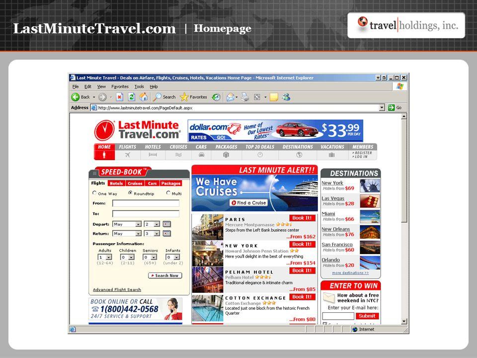 LastMinuteTravel.com | Homepage