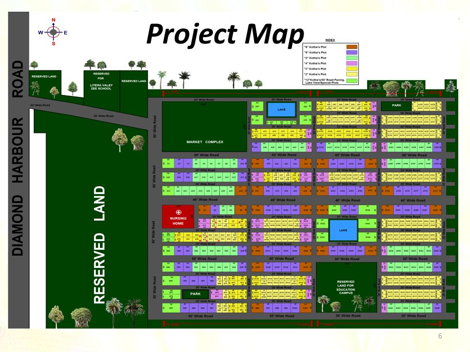 6 Project Map