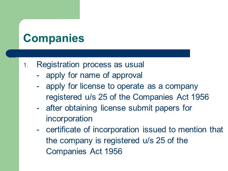 Companies 1.