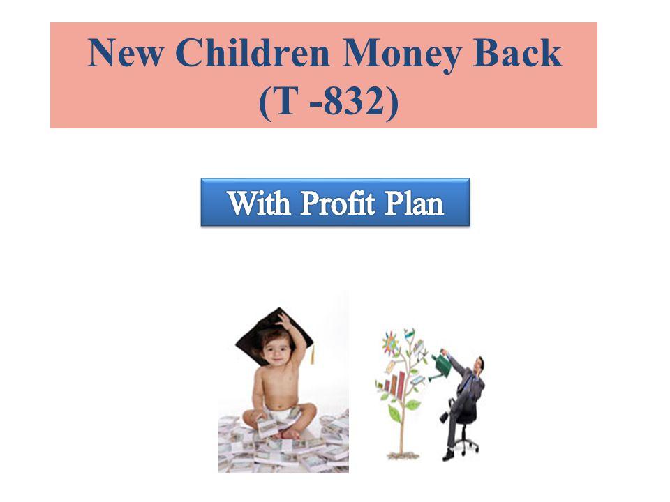 New Children Money Back (T -832)