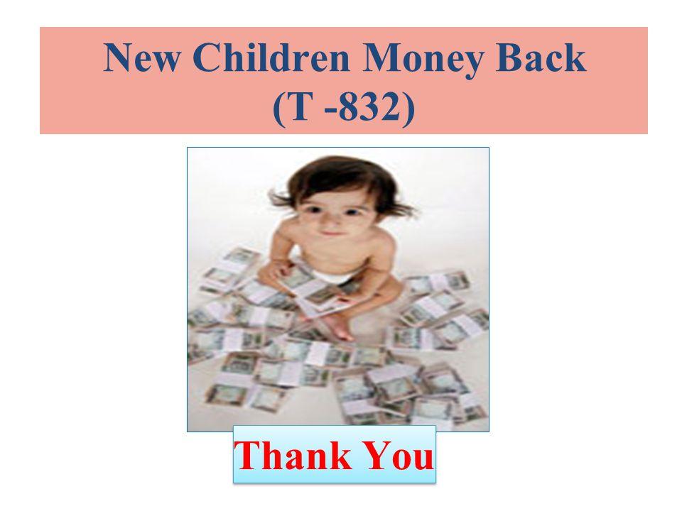 New Children Money Back (T -832) Thank You
