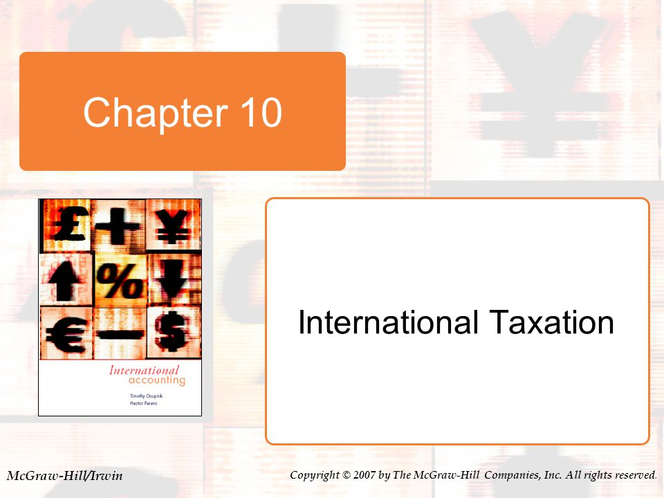 10-22 Foreign Tax Credit (FTC) FTC baskets  Passive income.