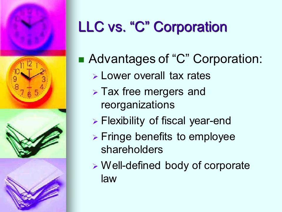 LLC vs.