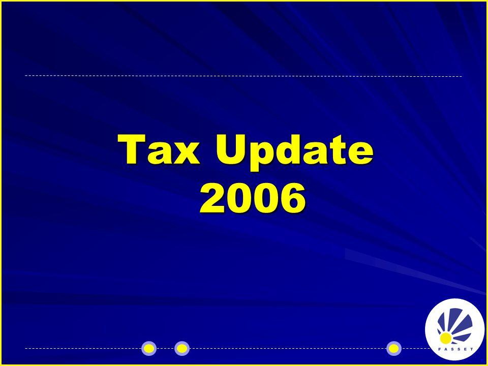 Tax Update 2006