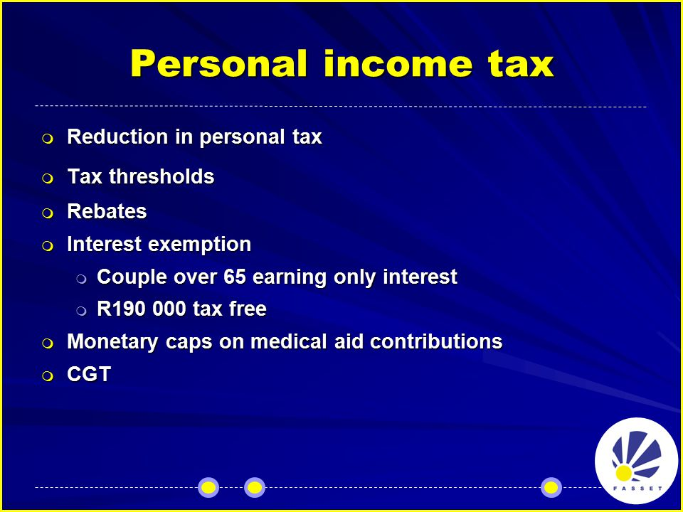 Corporate tax rates  No change to basic rates  SBCs revised tables  STC