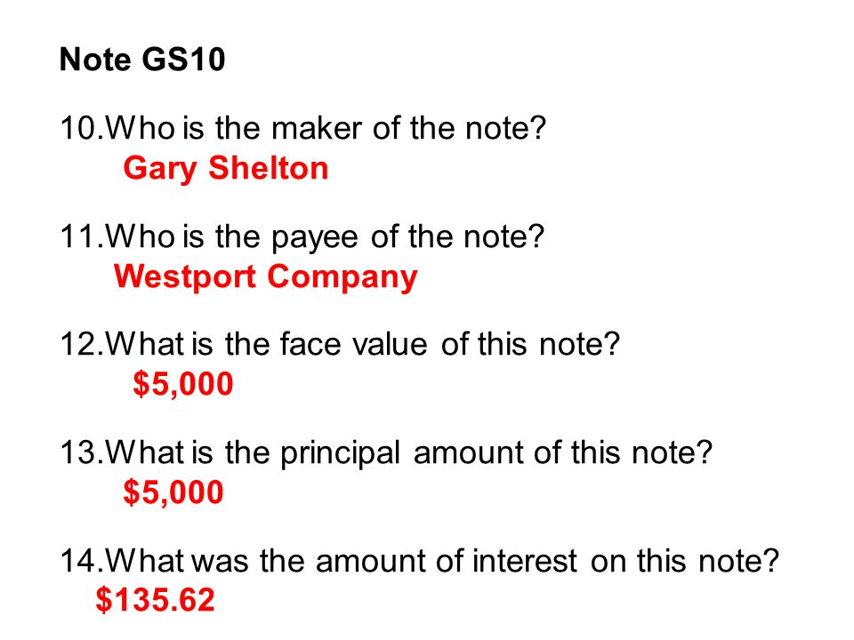 Note JD18 (1) 15.Who is the maker of the note as of January 18.
