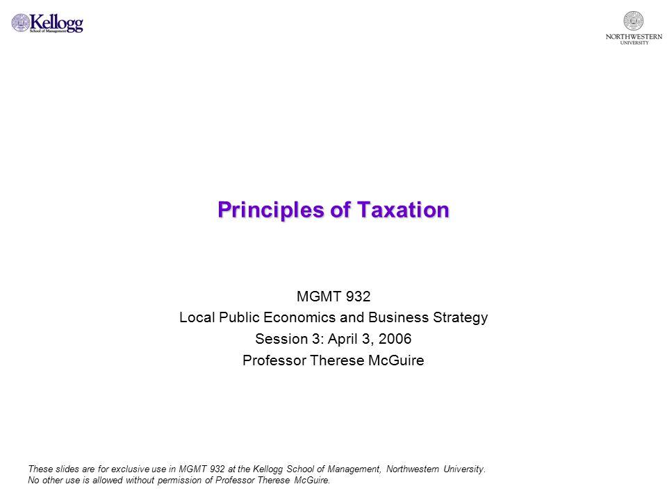 12 Efficiency in taxation.Minimize excess burden.