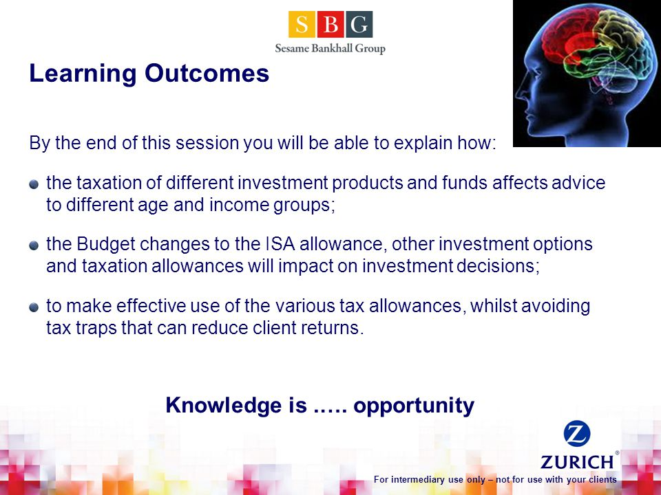 Learning Outcomes Knowledge is.….