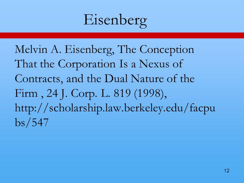12 Eisenberg Melvin A.