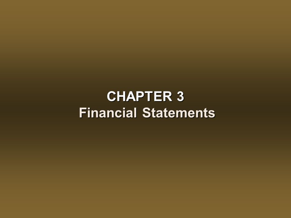 CHAPTER 3 – Financial Statements3 - 33 Corporate Income Taxation Corporate tax is paid at a 'flat' or fixed rate on 'taxable income'Corporate tax is paid at a 'flat' or fixed rate on 'taxable income' –Small businesses (income of $300,000 or less) face approximately (the actual rate varies by province) a 20% tax on income (combined federal and provincial) Companies are free to chose their own taxation year (fiscal year) but once established cannot alter it without justification and approval.Companies are free to chose their own taxation year (fiscal year) but once established cannot alter it without justification and approval.