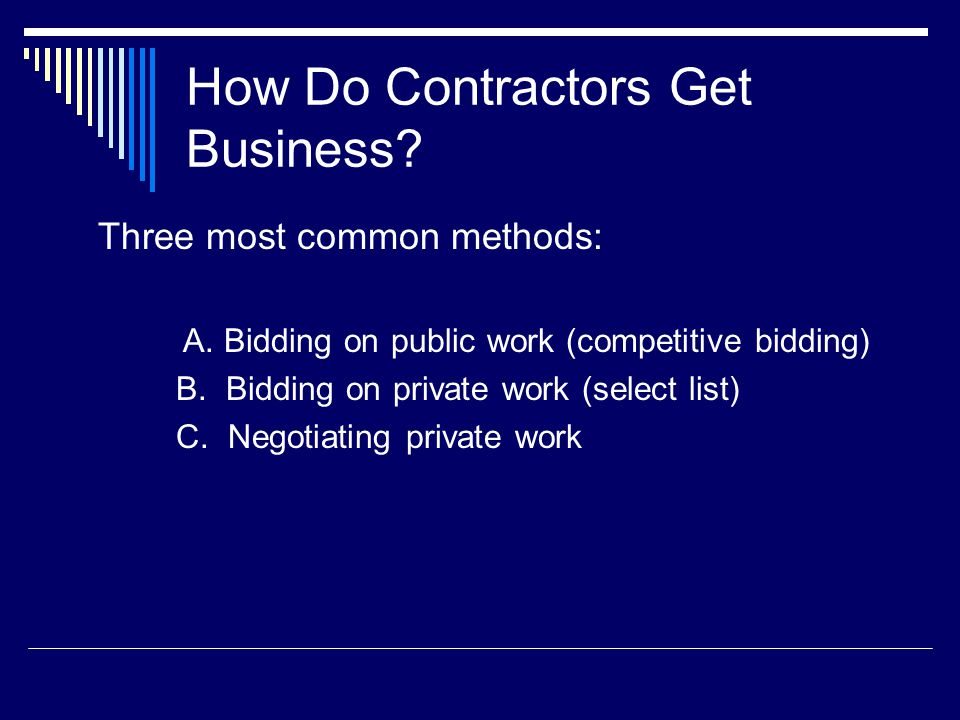 How Do Construction Companies & Contractors Promote Future Business.