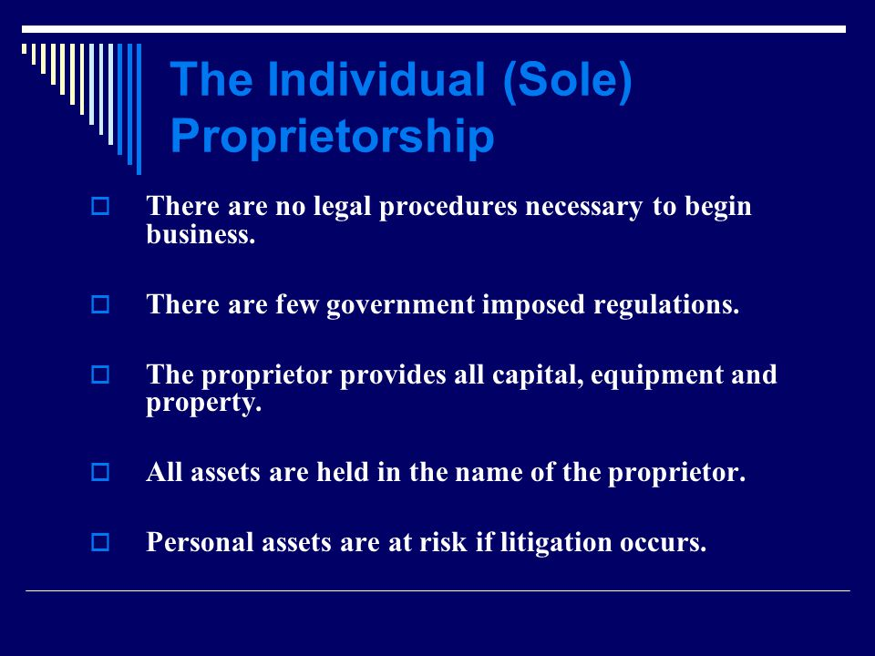 Summary: Some considerations when contemplating a legal structure: 1.