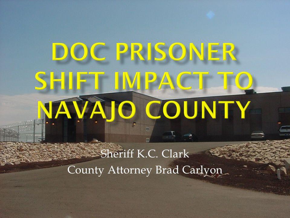 Sheriff K.C. Clark County Attorney Brad Carlyon