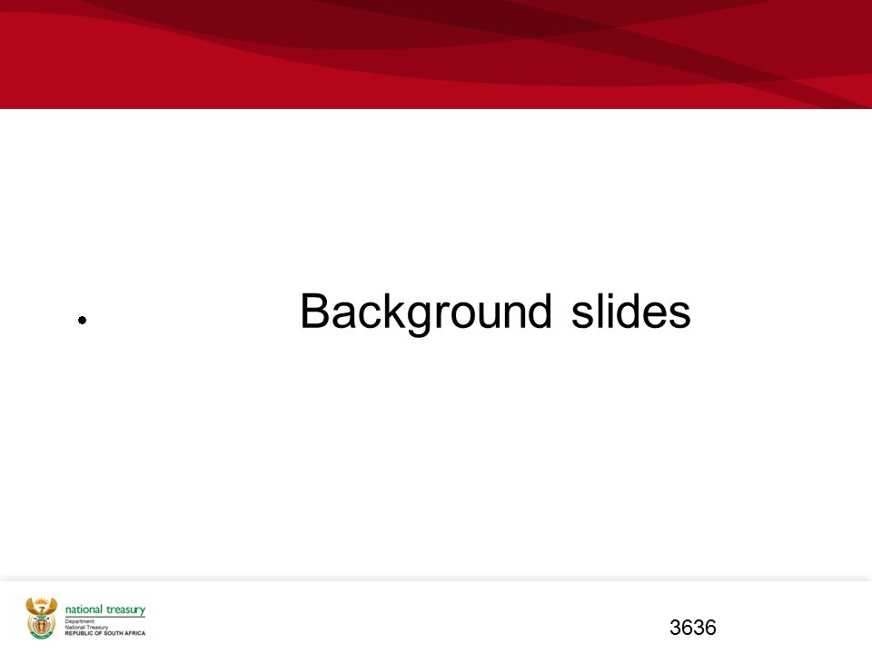 Background slides Background slides  Background slides 3636