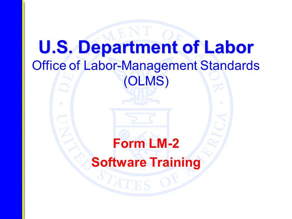 U.S. Department of Labor U.S.