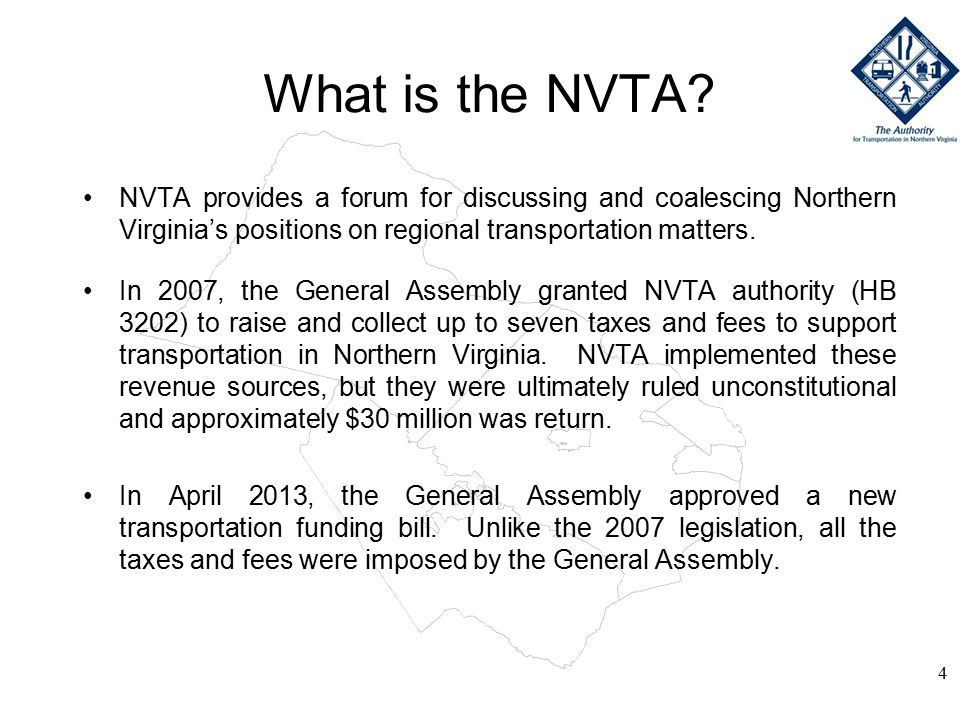 What is the NVTA.