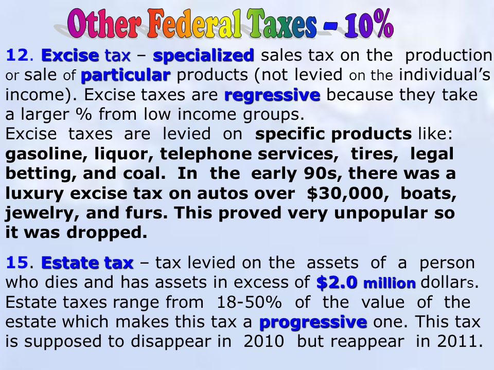 Corporate Income Taxes progressive 11.
