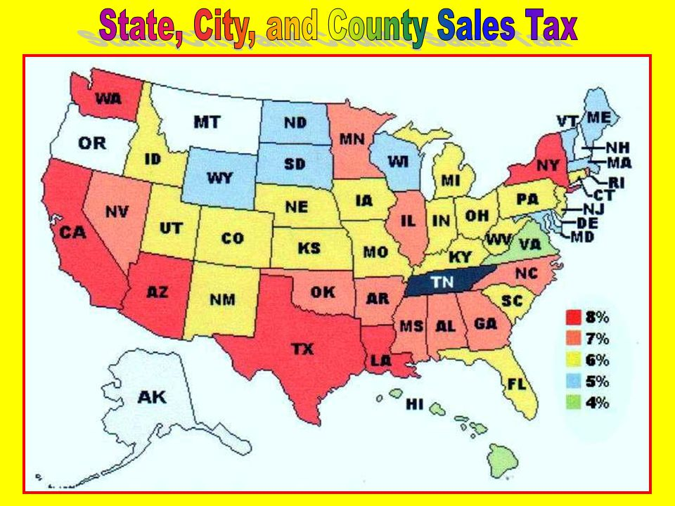 Property Taxes & Other Taxes Licenses and Others STATE AND LOCAL Revenues State Revenues Corporate Income Tax Sales and Excise Tax Personal Income Tax Sales & Excise T axes 48% StatePersonal Income Tax 34% Corporate Income Tax 7% Licenses & Others 6% Property Taxes & Other Taxes 5%