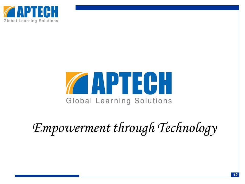 12 Empowerment through Technology