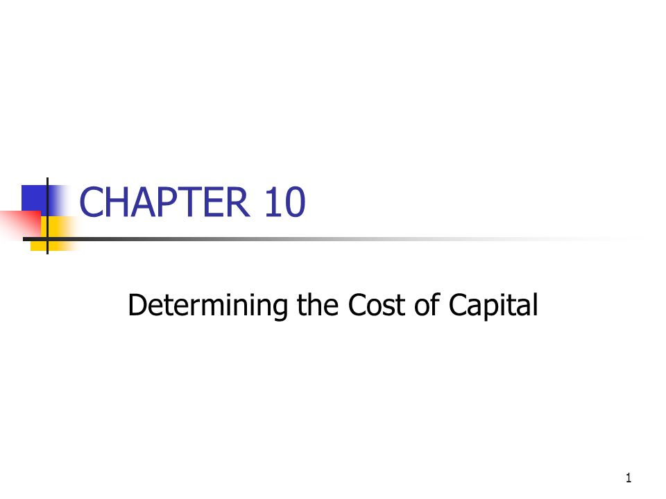 42 Divisional Cost of Capital Using CAPM (Continued) Division's required return on equity: r s = r RF + (r M – r RF )b Div.