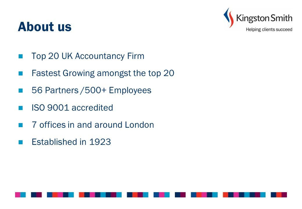 Kingston Smith Rated as Accountant of the year for the PLUS market.