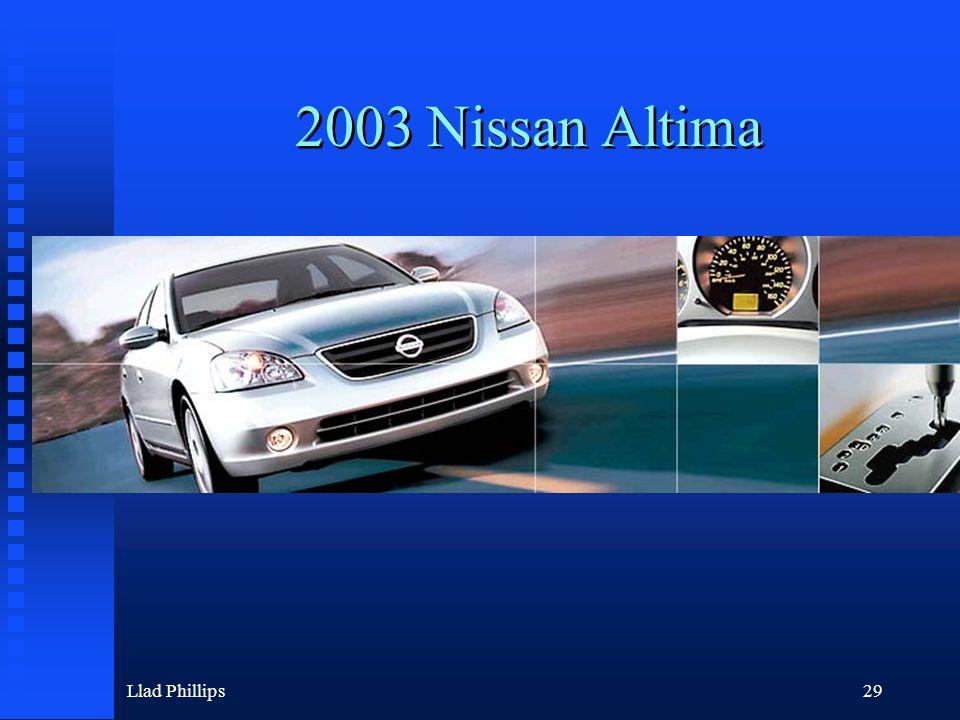 Llad Phillips29 2003 Nissan Altima