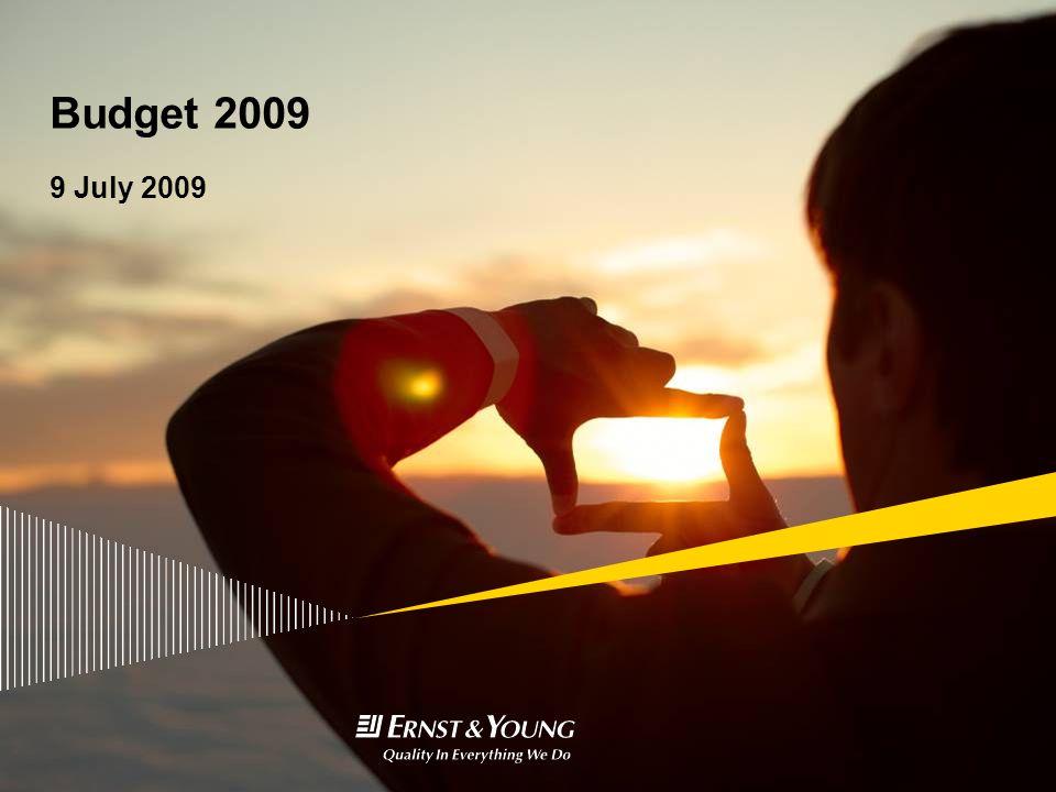 Budget 2009 9 July 2009