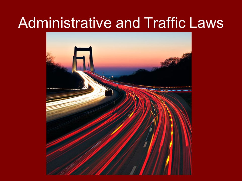 Administrative Laws What are administrative laws.