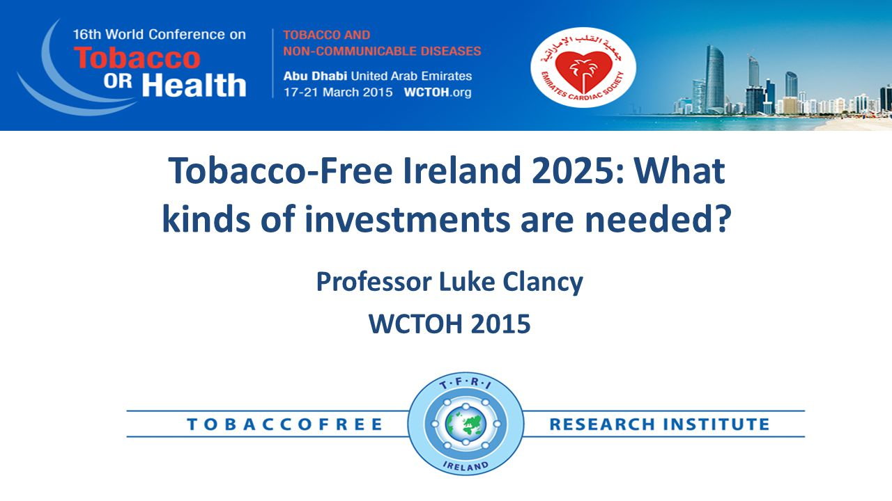 Predictions from SimSmoke Ireland Even with full compliance with MPOWER no country that we examined can reach elimination by 2040 We need more and better policies particularly on the supply side
