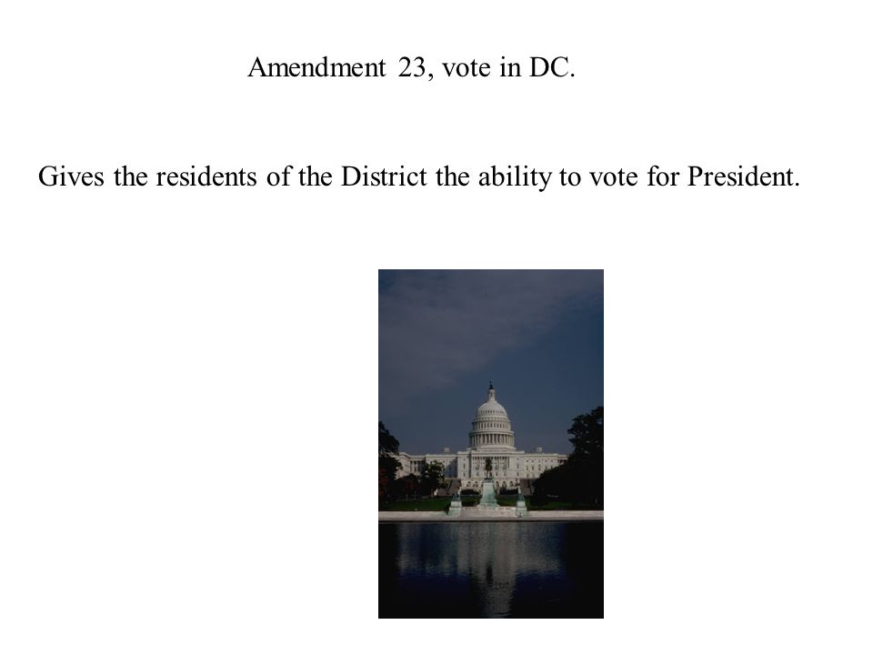 Amendment 22, 2 terms. Limits the time a person can be President to two terms plus two years.