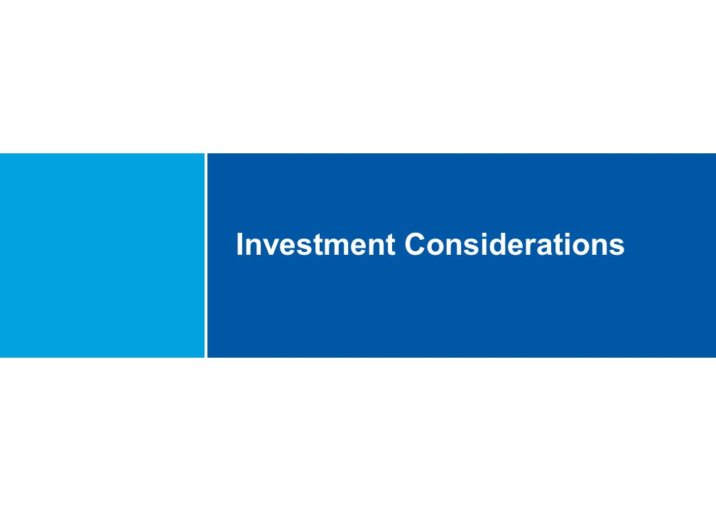 Investment Considerations Document Number PD014.1