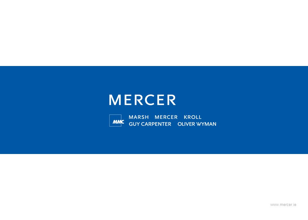 www.mercer.ie Document Number PD014.1