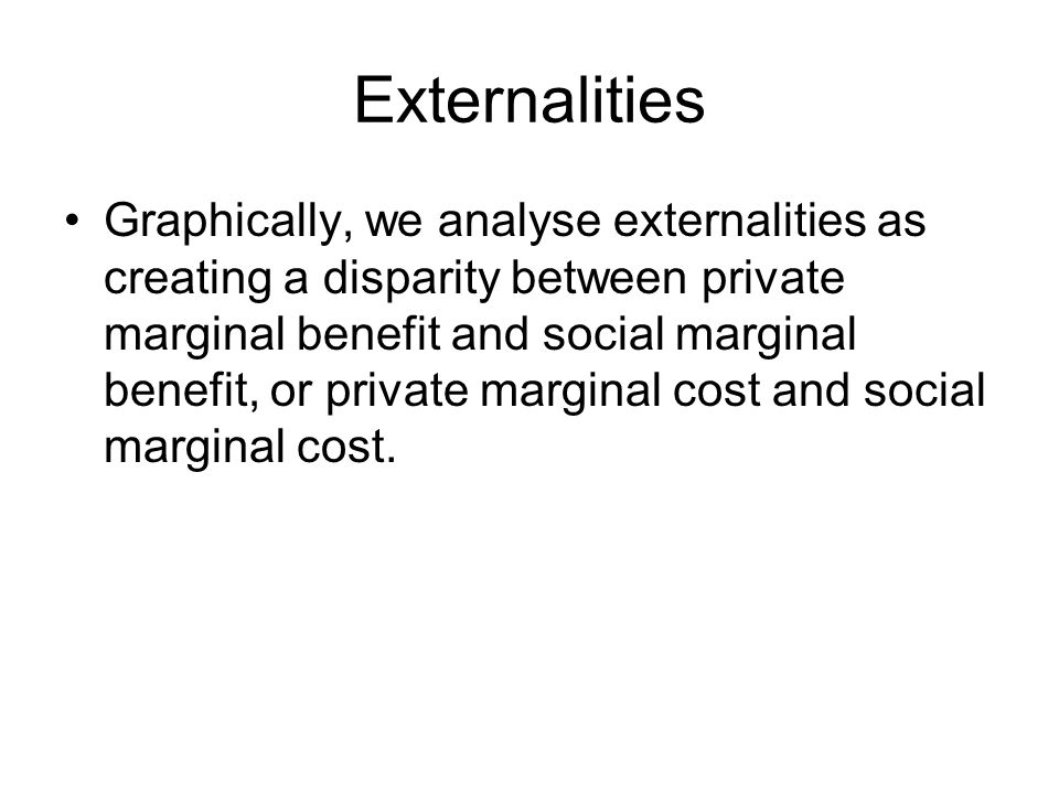 $ Q Externalities Demand=Σ Social MB Supply=Σ Social MC Q* P* The efficient amount of any good is the quantity where supply=demand.