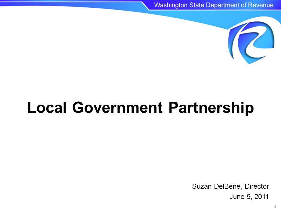 1 Suzan DelBene, Director June 9, 2011 Local Government Partnership