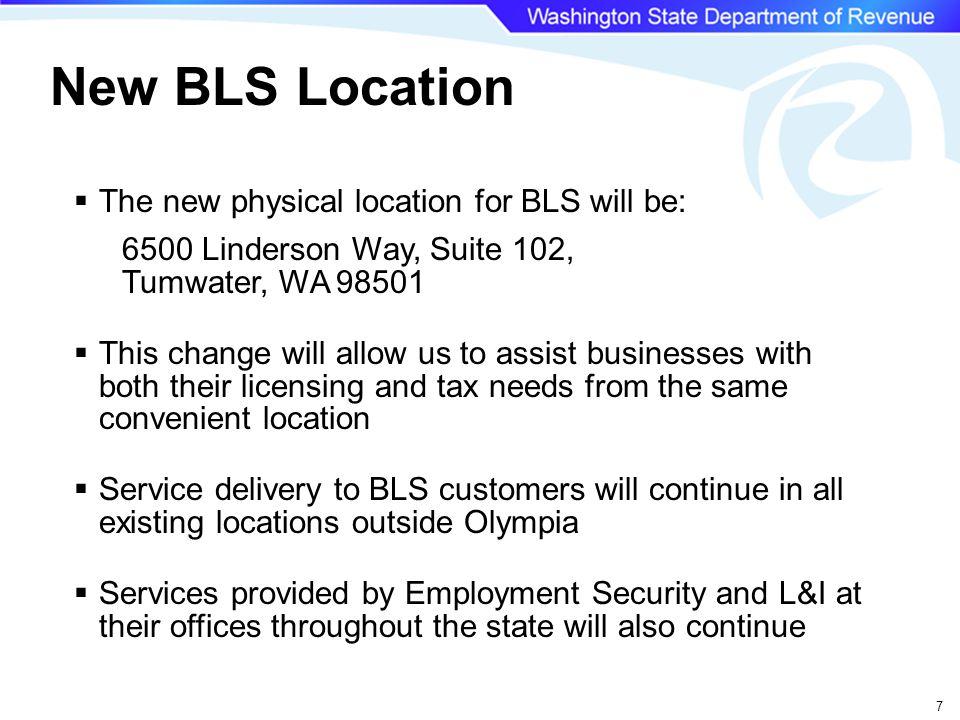 58 Local Government Web Page dor.wa.gov/localgovernment Or localgovernment.dor.wa.gov